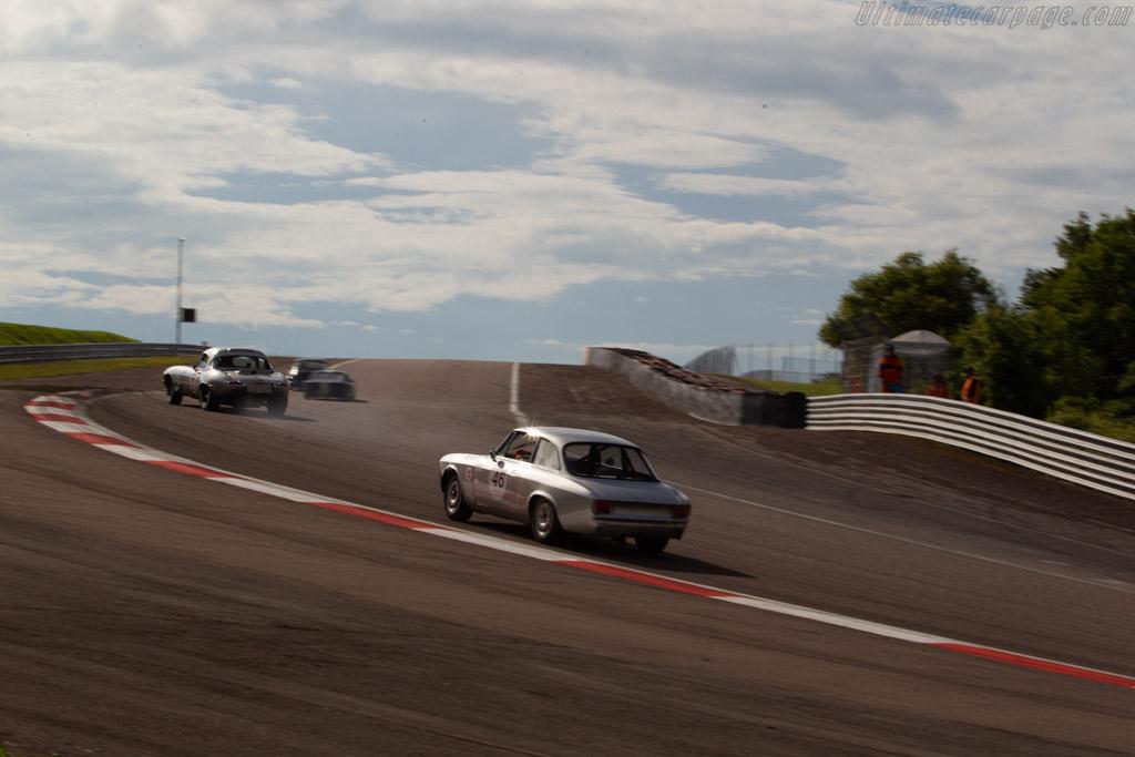 Alfa Romeo Gulia Sprint GT - Chassis: 617732 - Driver: Alice Bouriez  - 2018 Grand Prix de l'Age d'Or