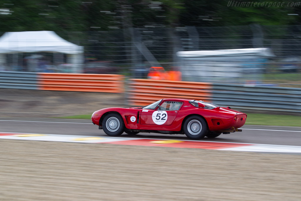 Bizzarrini 5300 GT - Chassis: BA4 0102 - Driver: Peter Muelder / Christian Traber  - 2018 Grand Prix de l'Age d'Or