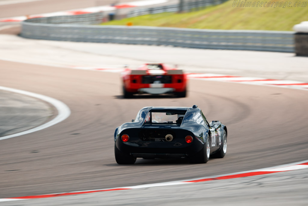 Chevron B8 - Chassis: CH-DBE-71 - Driver: John Emberson / Bill Wykeham  - 2018 Grand Prix de l'Age d'Or