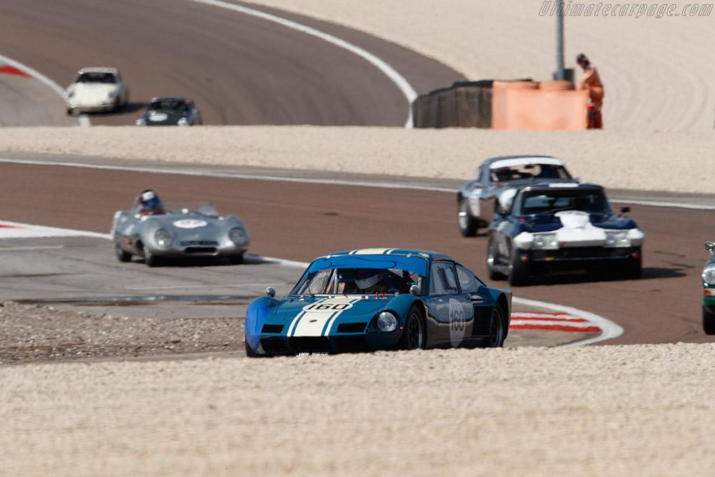 Elva GT160 - Chassis: 160GT/7S/3 - Driver: Michael Birch / Gareth Burnett  - 2018 Grand Prix de l'Age d'Or