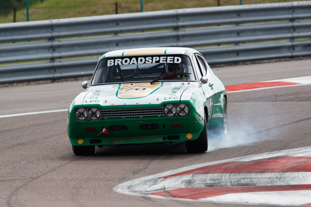 Ford Capri 2600 RS - Chassis: BBECNS34576 - Driver: Geoffroy Peter  - 2018 Grand Prix de l'Age d'Or