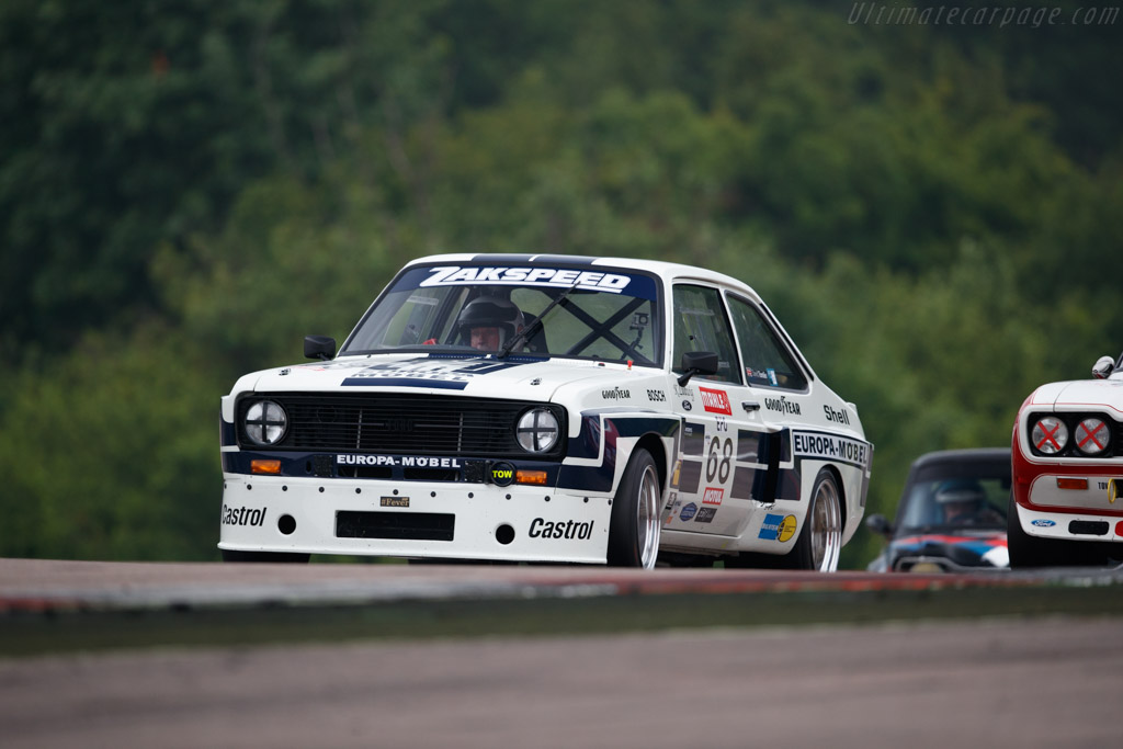 Ford Escort Mk2 Zakspeed  - Driver: David Tomlin  - 2018 Grand Prix de l'Age d'Or