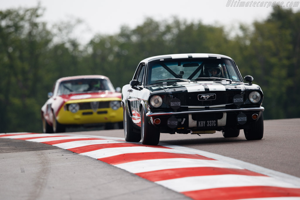 Ford Mustang - Chassis: 5R07C200346 - Driver: Christian Dumolin / Pierre-Alain Thibaut  - 2018 Grand Prix de l'Age d'Or