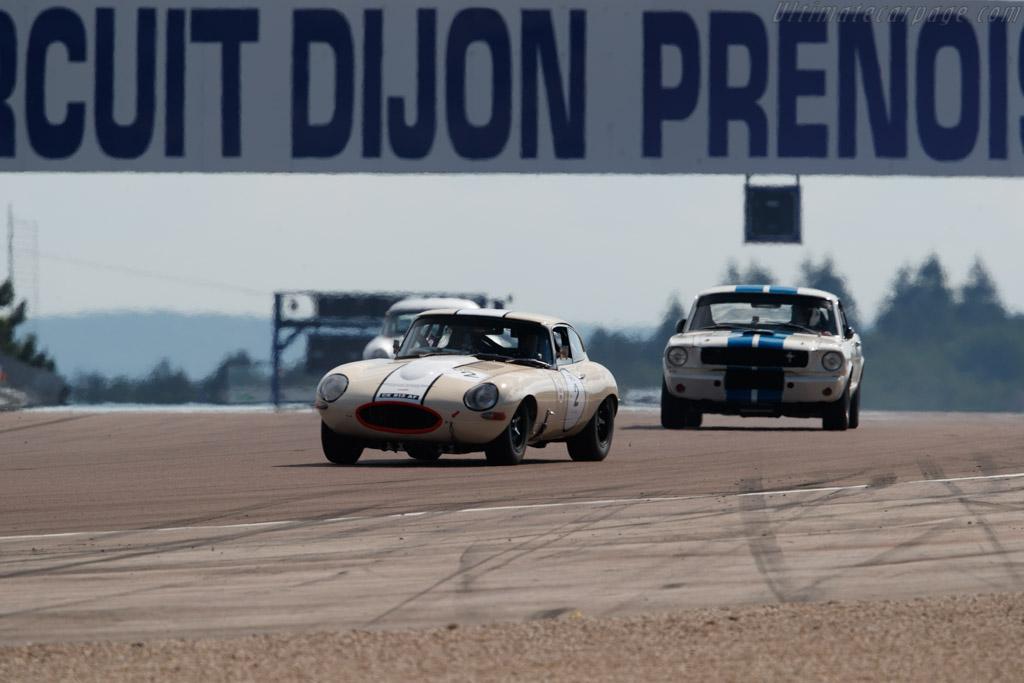 Jaguar E-Type - Chassis: 888825 - Driver: Guy Fabrice Mestrot / José Da Rocha  - 2018 Grand Prix de l'Age d'Or