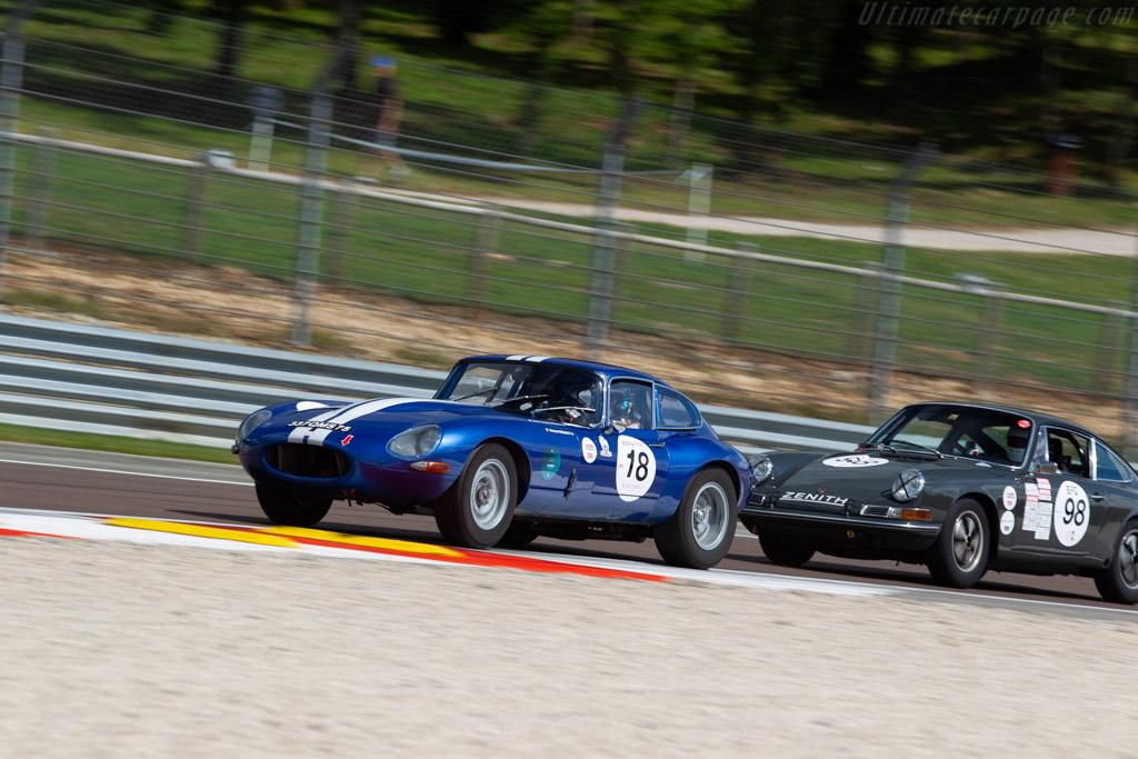 Jaguar E-Type - Chassis: 889210 - Driver: Jean-Francois Renault / Richard Renault  - 2018 Grand Prix de l'Age d'Or