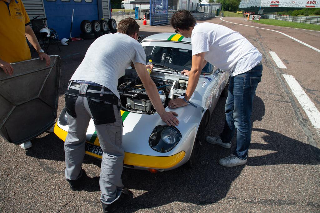 Lotus Elan S2 - Chassis: 26-4061 - Driver: Pascal Duhamel  - 2018 Grand Prix de l'Age d'Or