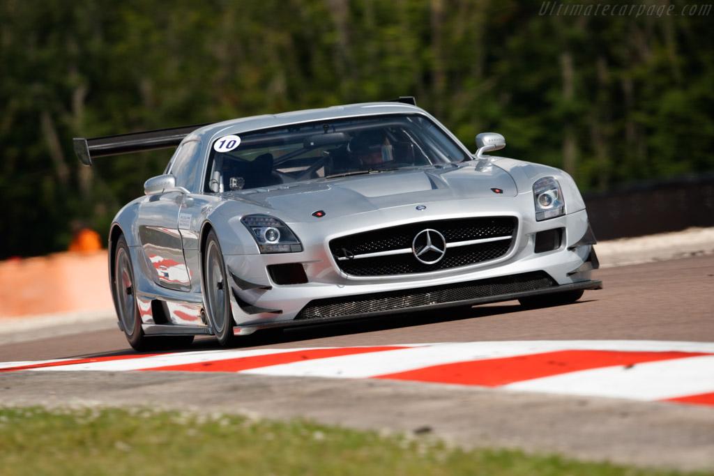 Mercedes-Benz SLS AMG GT3 - Chassis: 106 - Driver: Vincent Neurisse - 2018 Grand Prix de l'Age d'Or