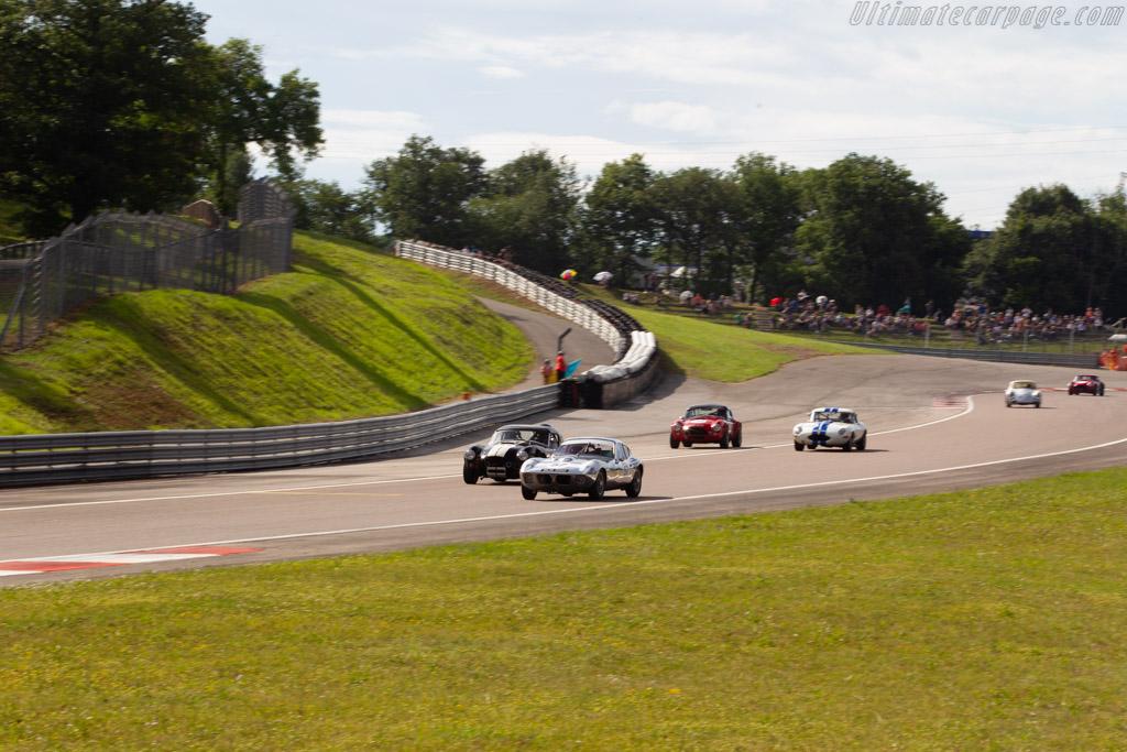 Morgan SLR - Chassis: SLR4 - Driver: John Emberson / Bill Wykeham  - 2018 Grand Prix de l'Age d'Or
