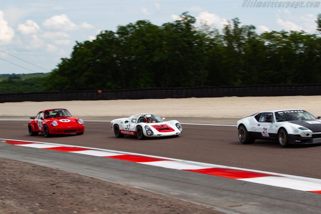 Porsche 910 - Chassis: 910-005 - Driver: Uwe Bruschnik  - 2018 Grand Prix de l'Age d'Or