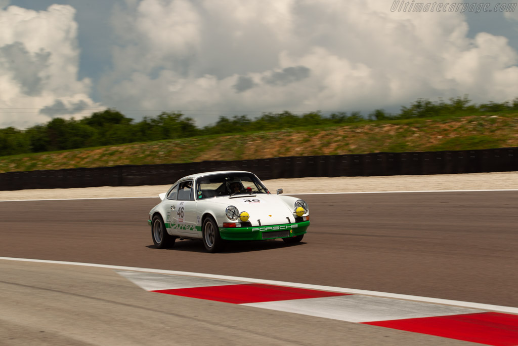Porsche 911 Carrera RS 2.7 - Chassis: 911 360 1347 - Driver: Christian Bouriez / Alice Bouriez  - 2018 Grand Prix de l'Age d'Or