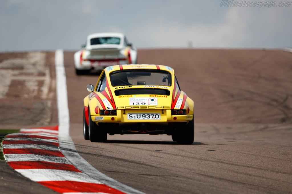 Porsche 911 ST 2.5 - Chassis: 911 030 1127 - Driver: Gerard Larrousse / Oliver Bryant  - 2018 Grand Prix de l'Age d'Or