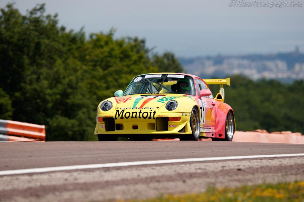 Porsche 993 GT2 Evo - Chassis: WP0ZZZ99ZTS394075 - Driver: Jean-Francois Piquet / Alain Triniane  - 2018 Grand Prix de l'Age d'Or