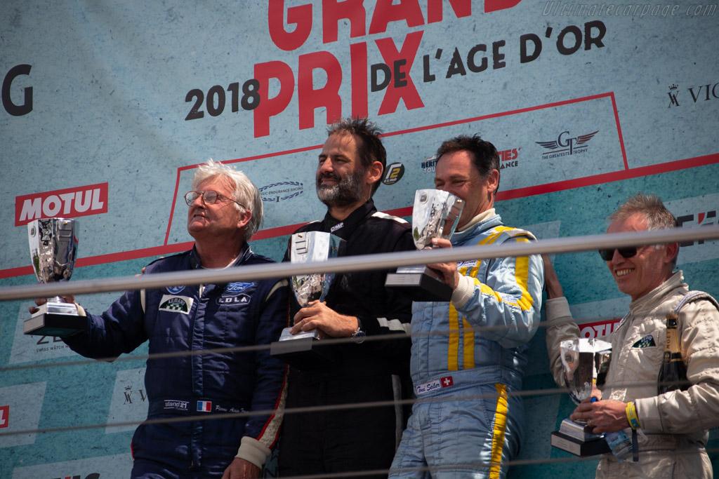 The Podium    - 2018 Grand Prix de l'Age d'Or