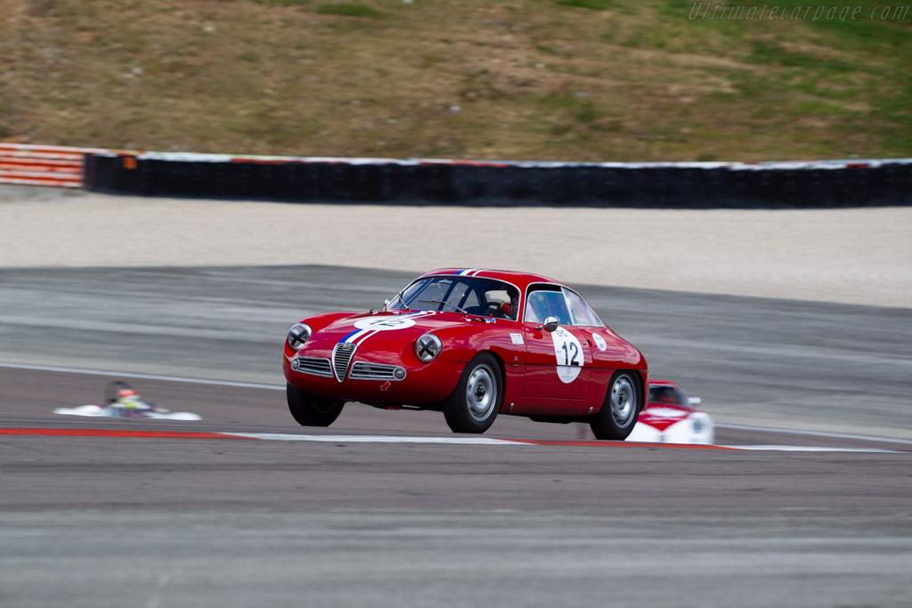Alfa Romeo Giulietta SZ - Chassis: AR10126 00086 - Driver: Jean-François Piquet / Charles Rupp - 2019 Grand Prix de l'Age d'Or