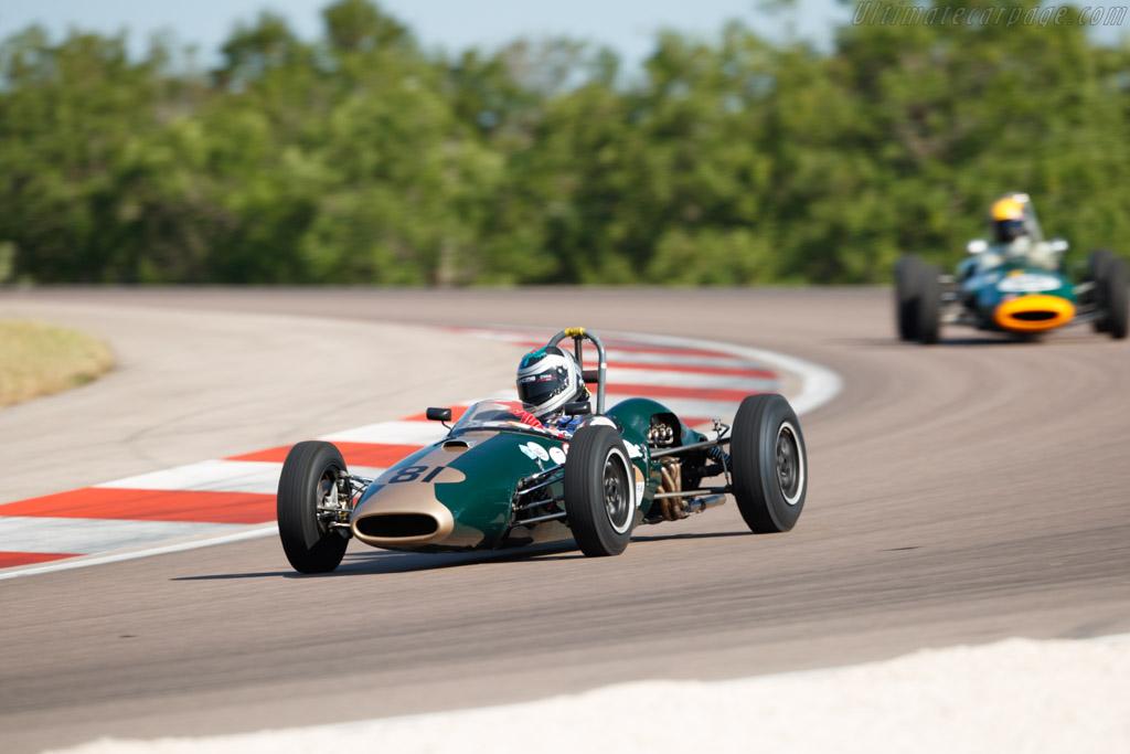 Brabham BT2 - Chassis: FJ-9-62 - Driver: Richard Bradley - 2019 Grand Prix de l'Age d'Or