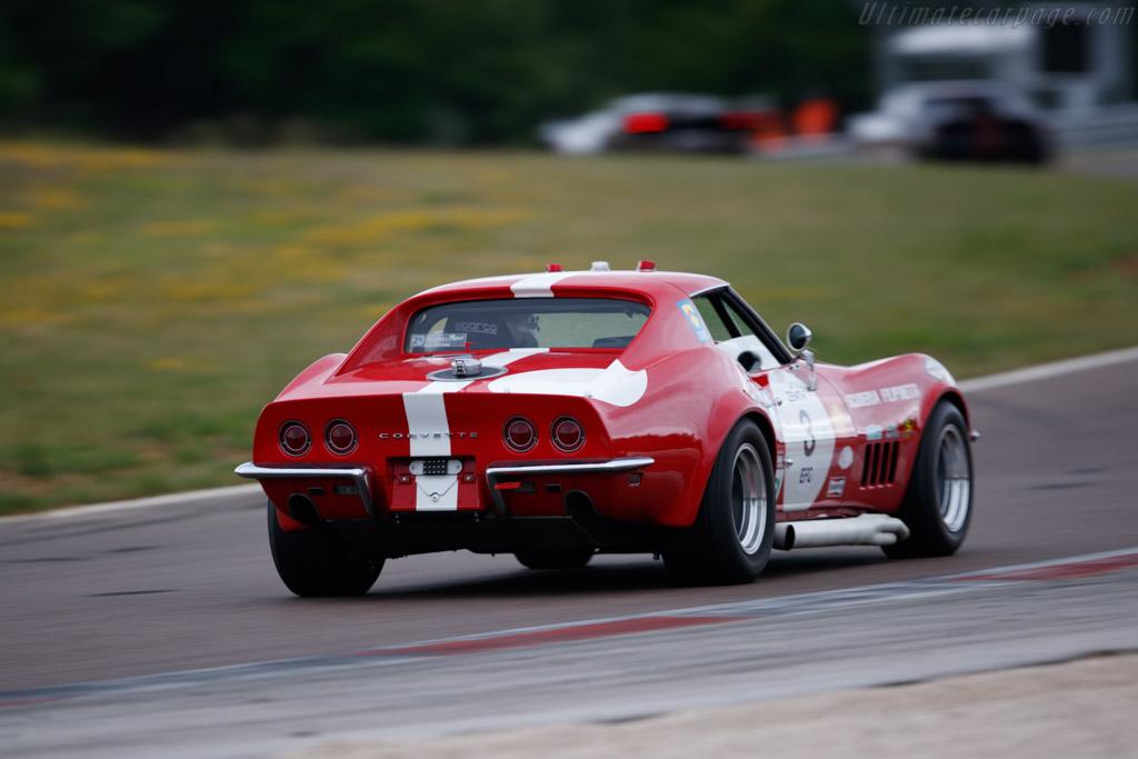Chevrolet Corvette - Chassis: 194378S419425 - Driver: Gilles Rivoallon / Marc Jully - 2019 Grand Prix de l'Age d'Or