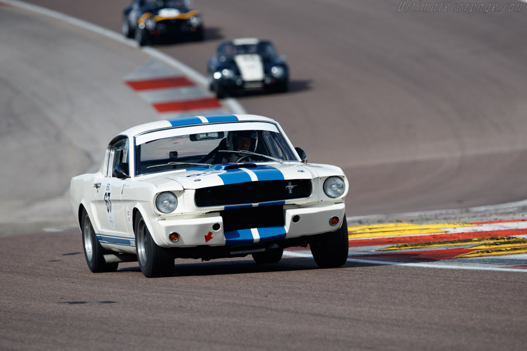 Ford Shelby Mustang GT350 - Chassis: SFM6S508 - Driver: Thomas Studer - 2019 Grand Prix de l'Age d'Or