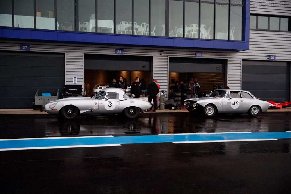 Jaguar E-Type - Chassis: 878981 - Driver: Armand Mille / Guillaume Mahe - 2019 Grand Prix de l'Age d'Or