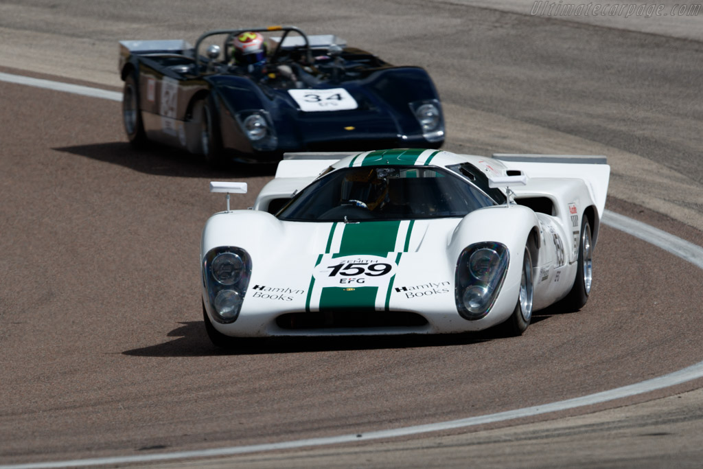 Lola T70 Mk3b - Chassis: SL76/138 - Driver: Robert Beebee / Martin O'Connell - 2019 Grand Prix de l'Age d'Or