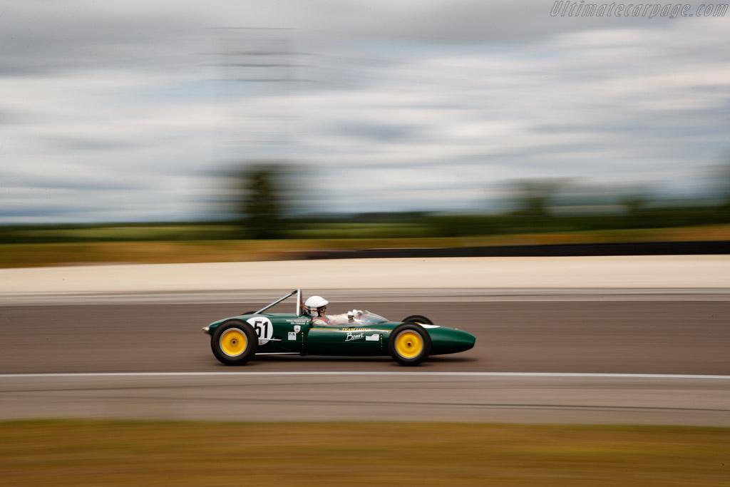 Lotus 20/22  - Driver: Fabrice Perruchot - 2019 Grand Prix de l'Age d'Or