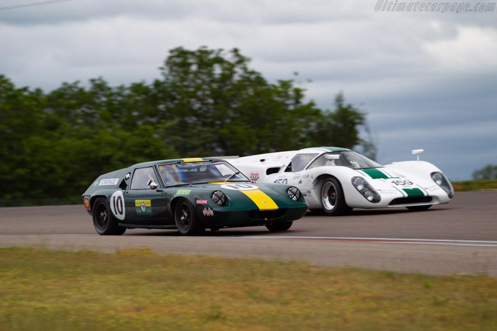 Lotus 47 GT - Chassis: 47/GT/21 - Driver: Franco Pedrazzi / Massimo Pedrazzi - 2019 Grand Prix de l'Age d'Or