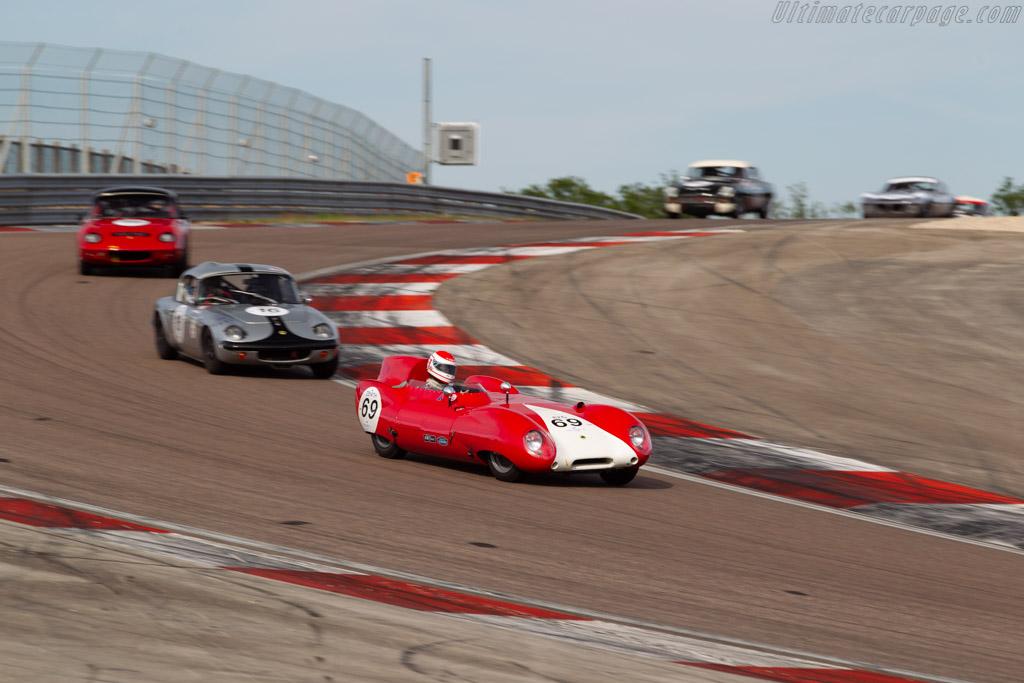 Lotus Eleven 1500 - Chassis: 168 - Driver: Serge Kriknoff - 2019 Grand Prix de l'Age d'Or
