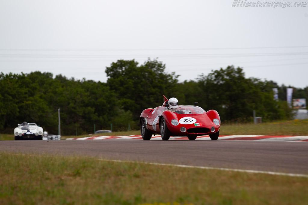 Maserati Tipo 63 - Chassis: 63.004 - Driver: Josef Rettenmaier - 2019 Grand Prix de l'Age d'Or