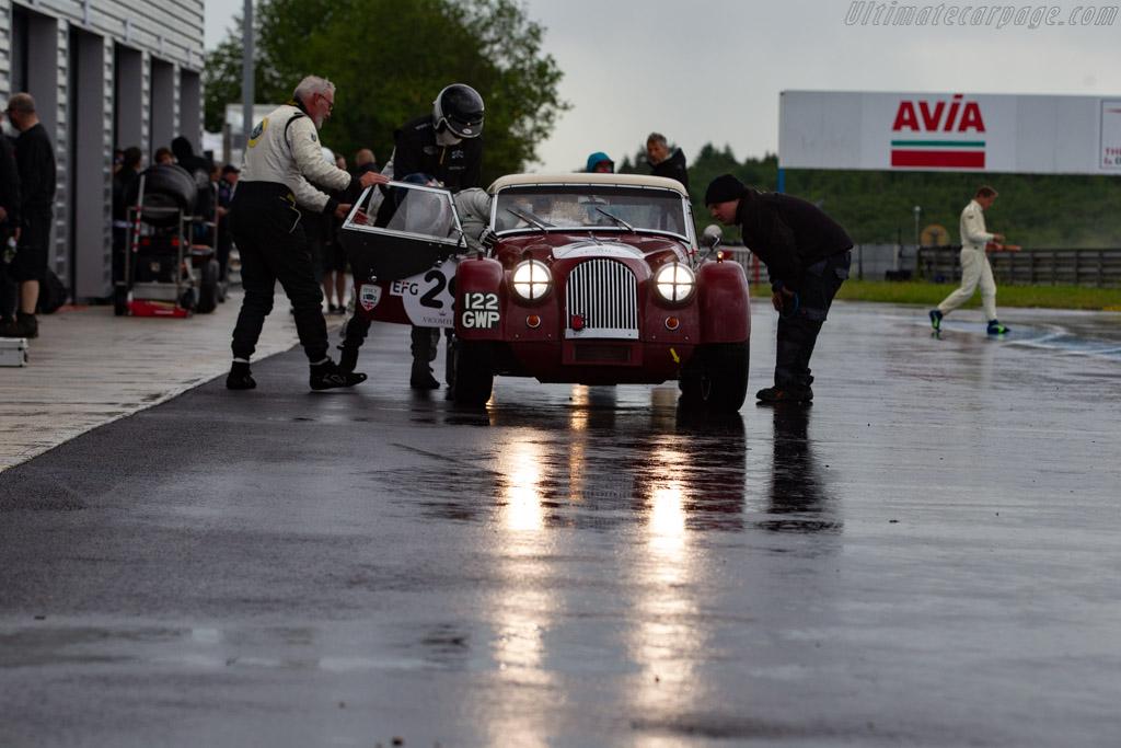 Morgan +4 Super Sport - Chassis: 5125 - Driver: Gaël Regent / Guillaume Gouble - 2019 Grand Prix de l'Age d'Or