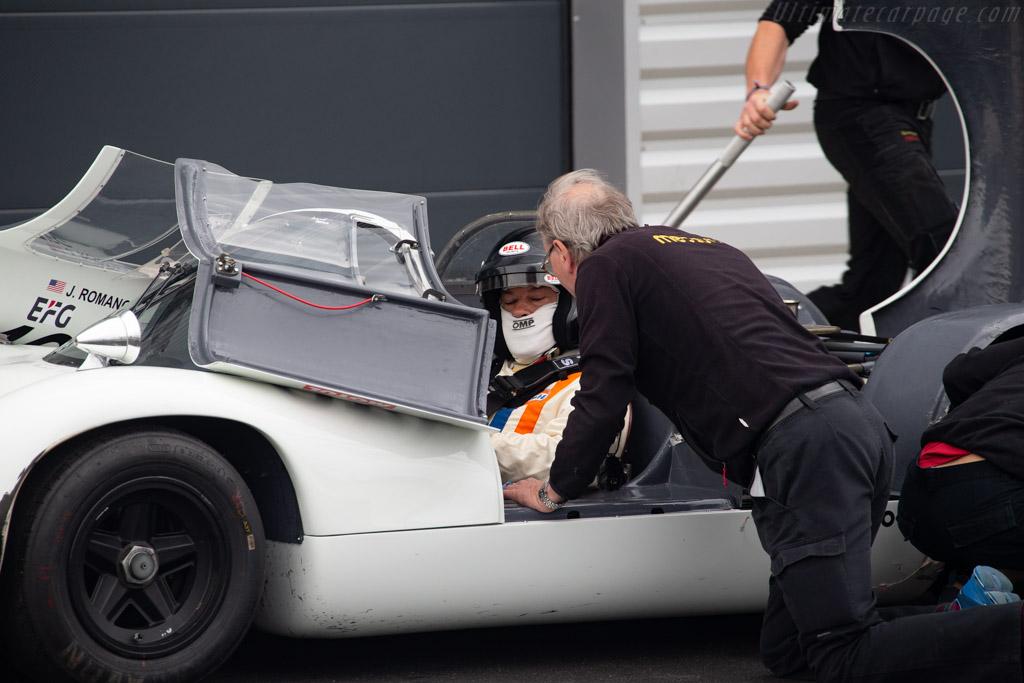 Porsche 910 - Chassis: 910-026 - Driver: John Romano - 2019 Grand Prix de l'Age d'Or