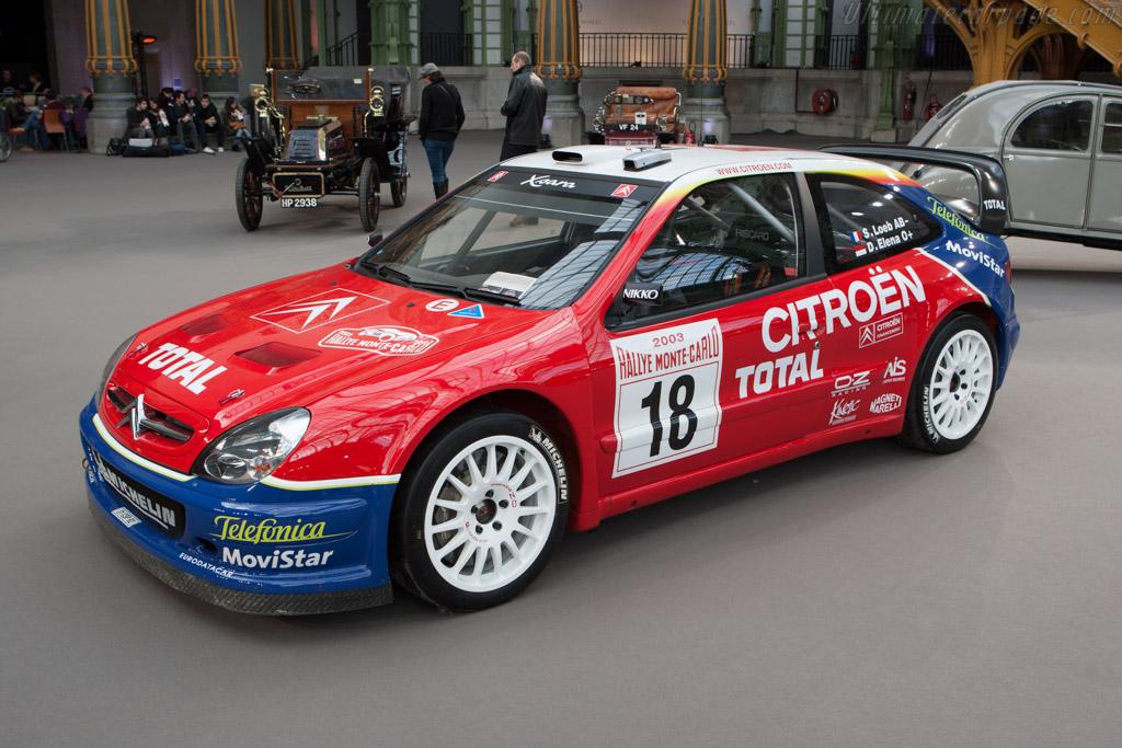 Citroën Xsara WRC    - 2013 Retromobile
