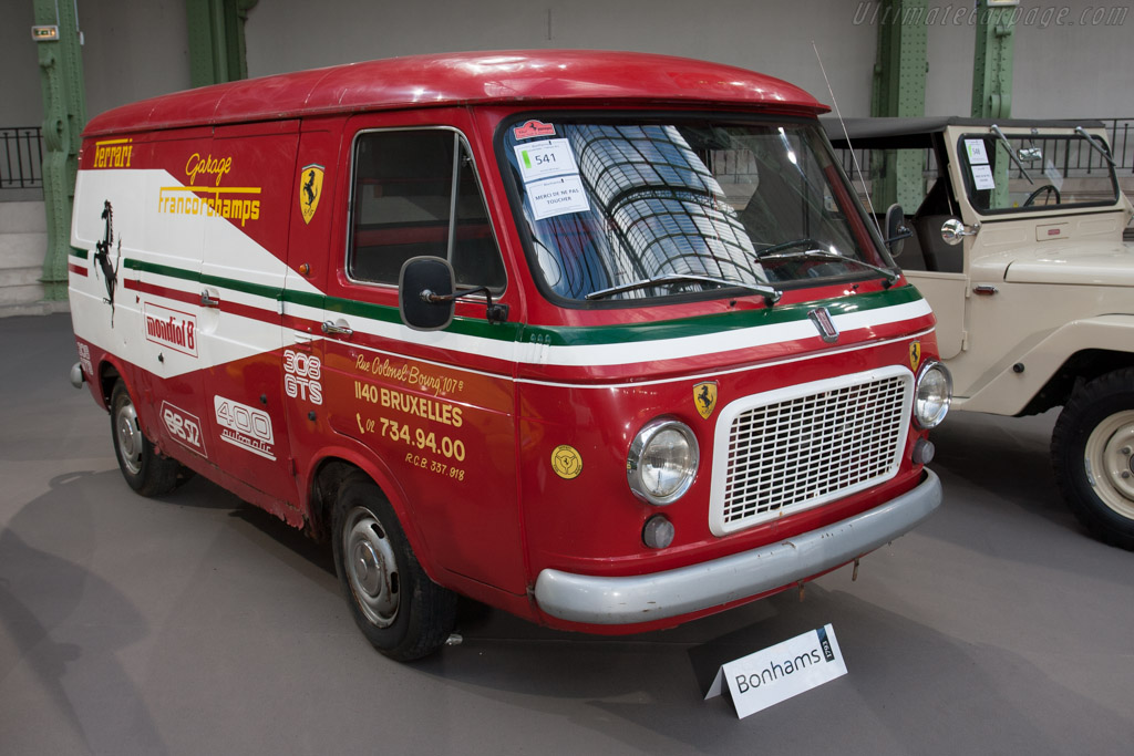 Fiat 238 Fourgon - Chassis: 238B10106116   - 2013 Retromobile