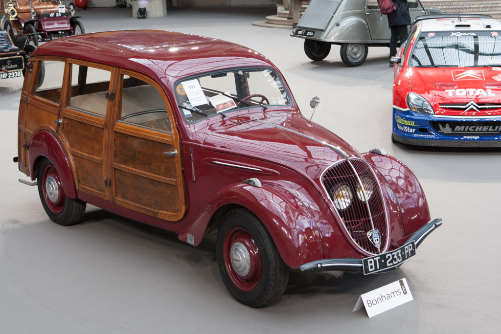 Peugeot 202 - Chassis: 715608   - 2013 Retromobile