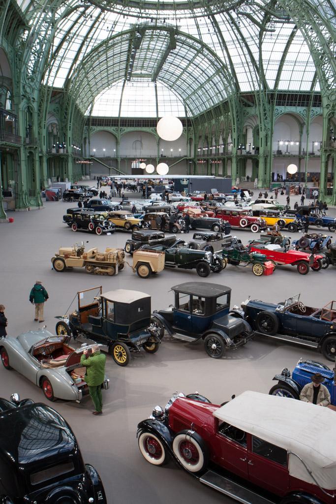 Welcome to the Grand Palais    - 2013 Retromobile