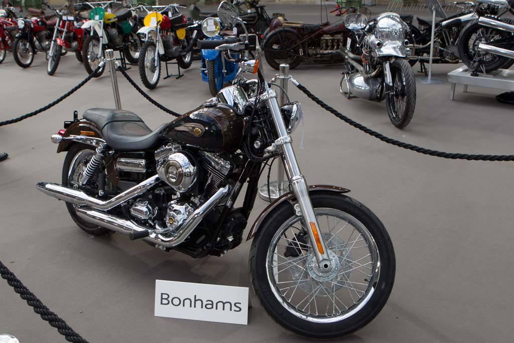 Harley-Davidson Dyna Glide Super Custom    - 2014 Retromobile