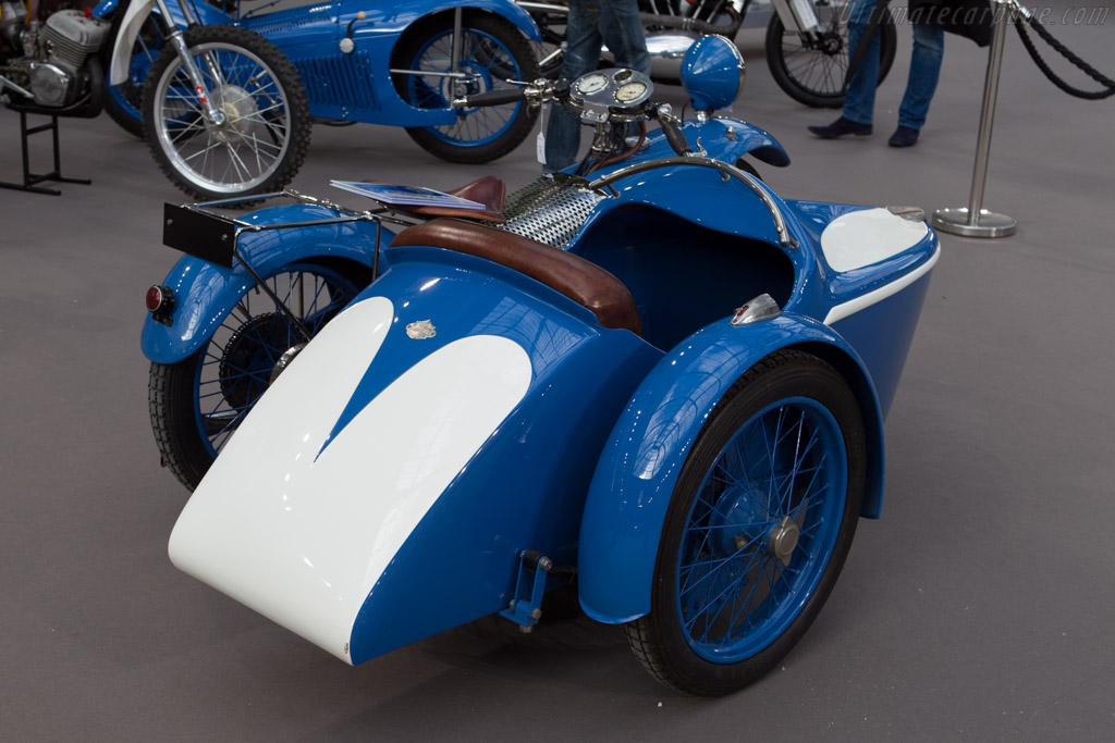Majestic 500 with sidecar    - 2014 Retromobile