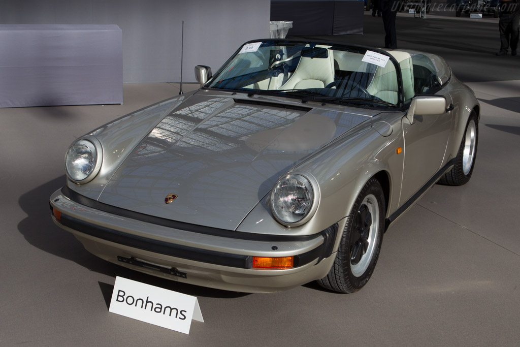 Porsche 911 Speedster - Chassis: WP0ZZZ91ZKS152438   - 2014 Retromobile