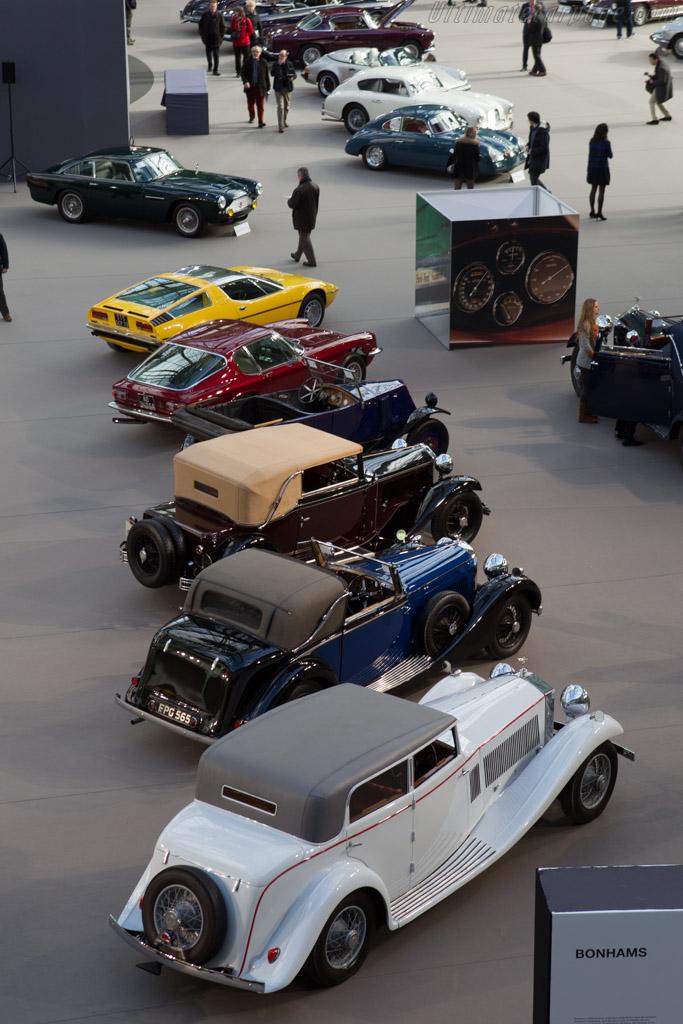 Welcome to the Grand Palais    - 2014 Retromobile