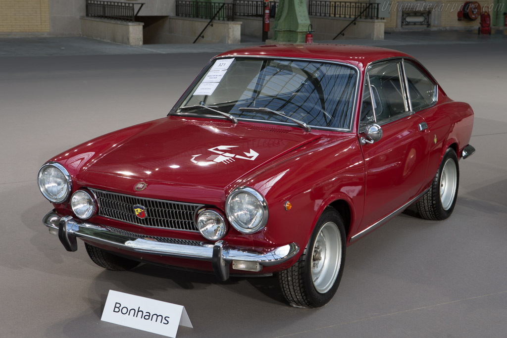 Fiat Abarth 124 Coupe - Chassis: 0259930   - 2015 Retromobile