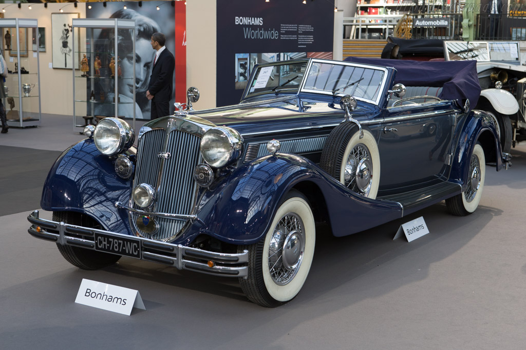 Horch 853 Cabriolet - Chassis: 853400   - 2015 Retromobile