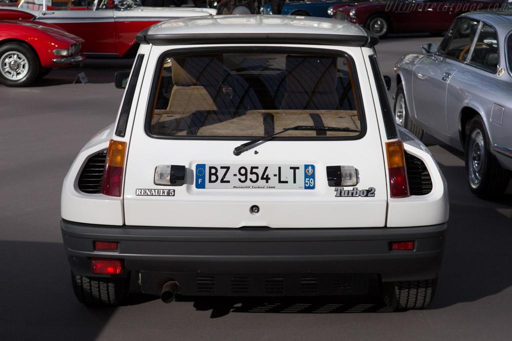 Renault 5 Turbo 2 - Chassis: VF18220000050128   - 2015 Retromobile