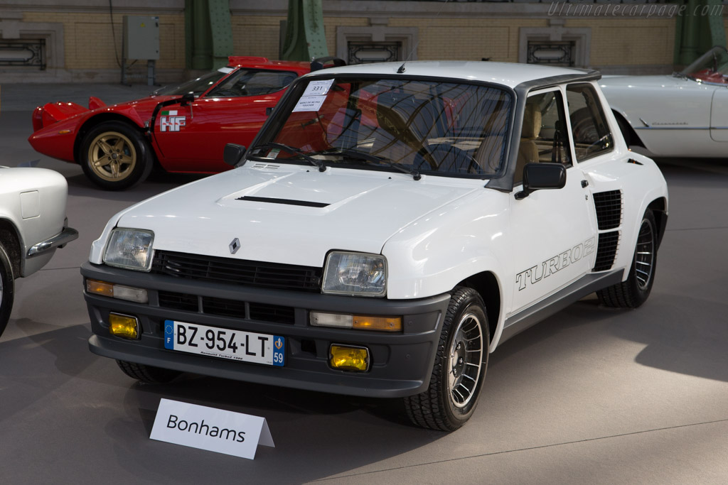 Renault 5 Turbo 2 - Chassis: VF18220000050128   - 2015 Retromobile