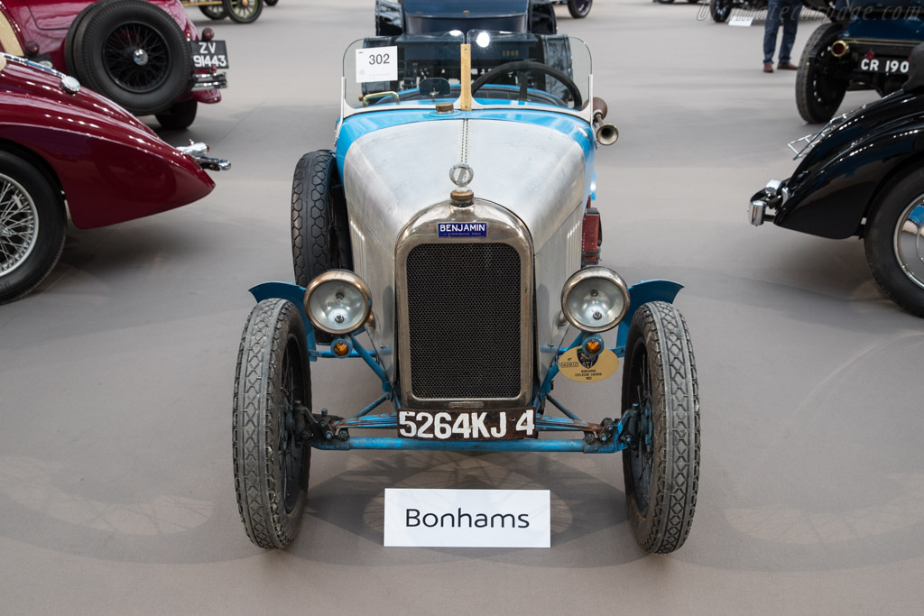 Benjamin 5hp Type B Cyclecar - Chassis: 4-S 48   - 2018 Retromobile