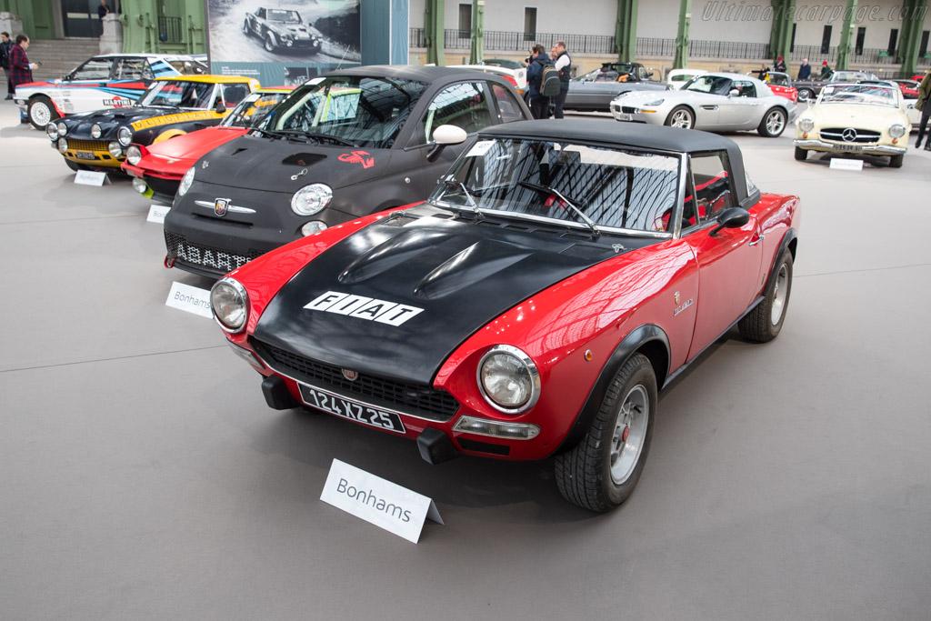 Fiat 124 Abarth Rallye Spider - Chassis: 124CSA 0064120   - 2018 Retromobile
