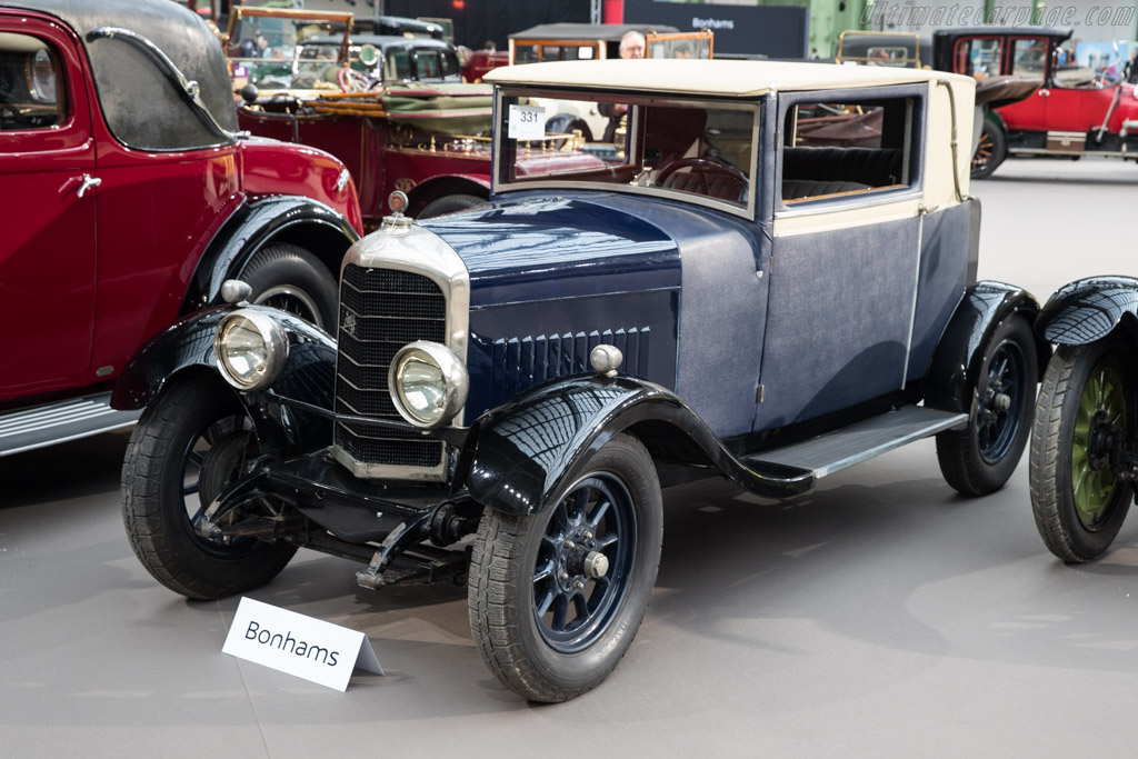 Minerva Type 8-25 SS Fabric Saloon - Chassis: 2110   - 2018 Retromobile