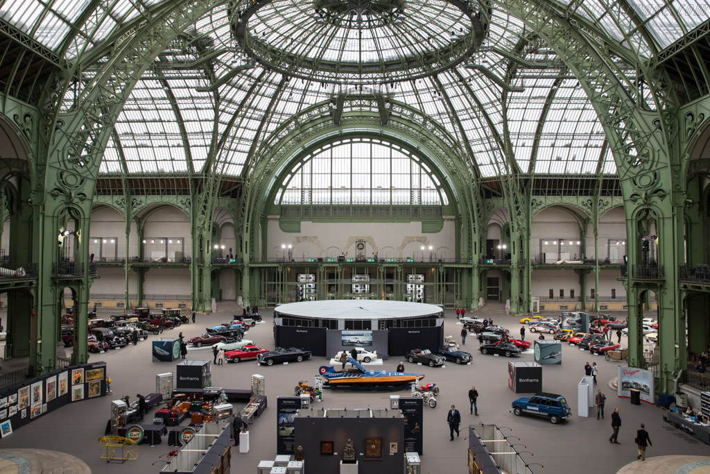 Welcome to the Grand Palais    - 2018 Retromobile