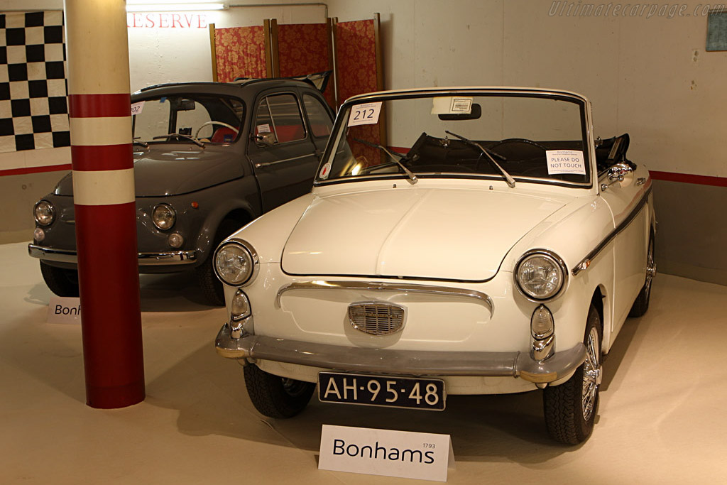 Autobianchi Bianchina Eden Roc - Chassis: 004091   - 2007 Bonhams Gstaad Auction