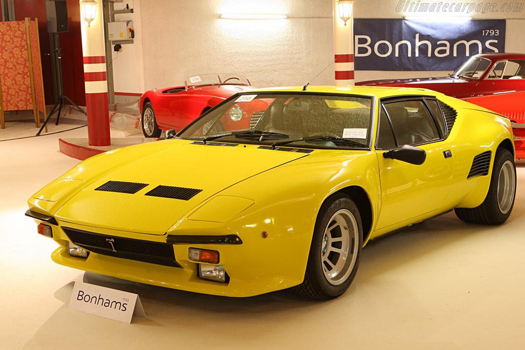 DeTomaso Pantera GT5S - Chassis: 09562   - 2007 Bonhams Gstaad Auction