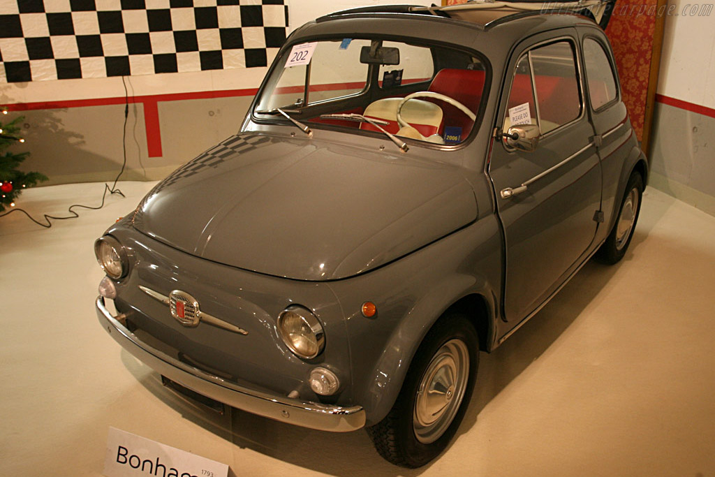 Fiat 500D - Chassis: 810572   - 2007 Bonhams Gstaad Auction