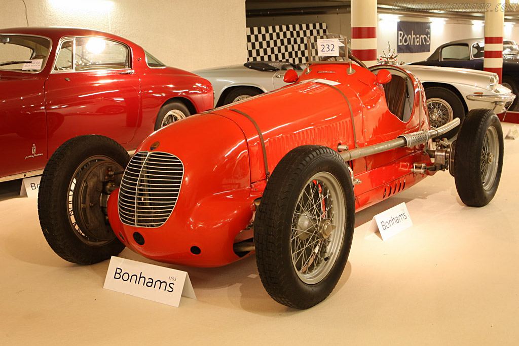 Maserati 4CM - Chassis: 1128   - 2007 Bonhams Gstaad Auction