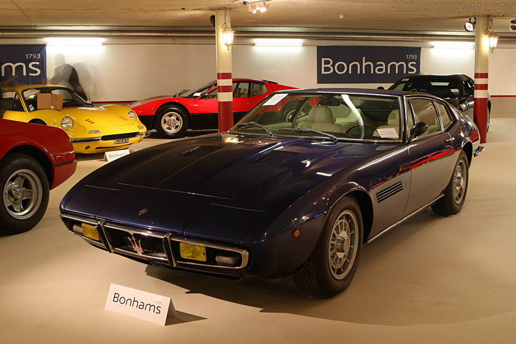 Maserati Ghibli SS - Chassis: AM115/49 1990   - 2007 Bonhams Gstaad Auction